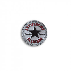 Antifascist Allstars Black, Metal-Pin