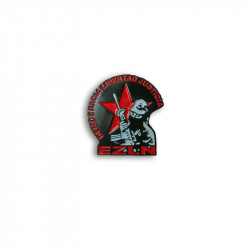 EZLN Democracia, Metal-Pin