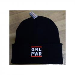 "Beanie mit Stick ""GRL PWR"""