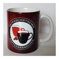ANTIFASCHISTISCHES KAFFEEKRÄNZCHEN - Kaffeebecher