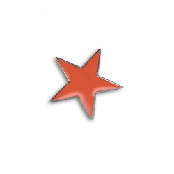Stern - rot, Metal-Pin
