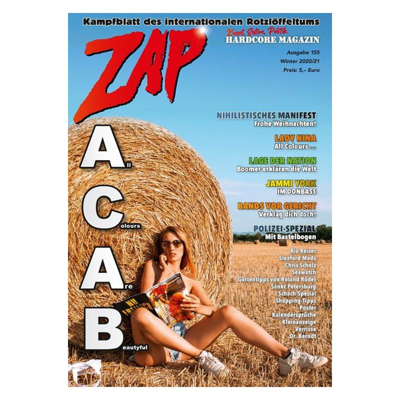 ZAP Hardcore Magazin - Ausgabe 155 - Winter 2020/2021
