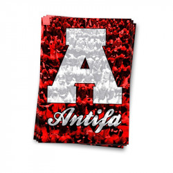 Antifa Mob - Aufkleber - 30 Stück