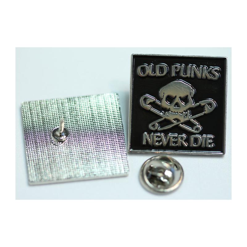 Old Punks Never Die  - Metal-Pin