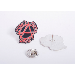 PUNKS NOT DEAD  - Metal-Pin