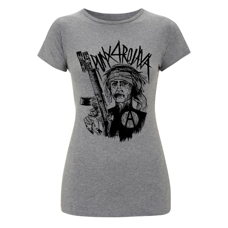 Punx 4 Rojava – Soli-T-Shirt tailliert, FairTrade/Bio - EP04