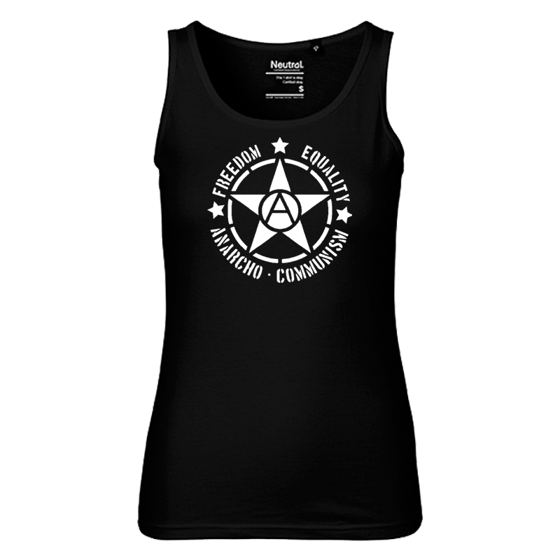 FREEDOM EQUALITY - Bio-FairTrade-Ladies-Tank-Top-Shirt, NE81300