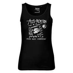 Aus-Rotten - Fuck Nazi Sympathy - Bio-FairTrade-Ladies-Tank-Top-Shirt, NE81300