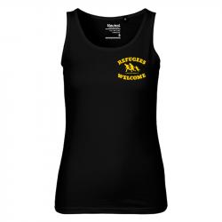 Refugees Welcome - Bio-FairTrade-Ladies-Tank-Top-Shirt, NE81300