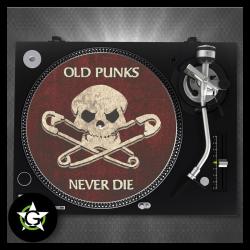 Old Punks never die - SLIPMAT