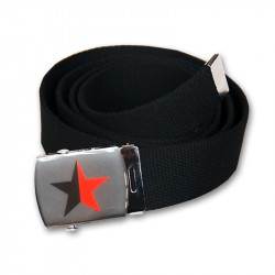Red/Black Star - Gürtel