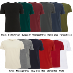 FairTrade-T-Shirt, N03, Unisex Classic Jersey - Continental Clothing - alle Farben