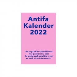 Antifaschistischer Taschenkalender 2022 - Unrast, Kalendergruppe - Antifa (Hg.)