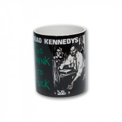 Dead Kennedys too drunk to fuck - Kaffeebecher